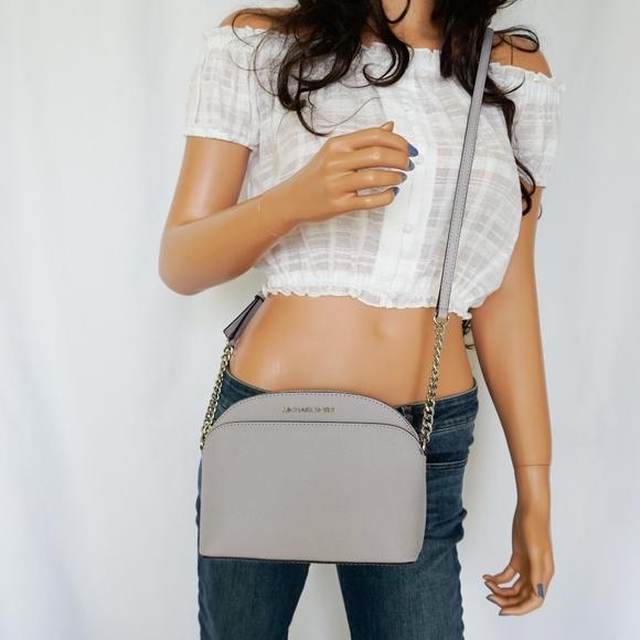 246f87cf6c0a8e Michael Kors Bags   Jet Set Emmy Dome Crossbody Bag Lilac   Poshmark